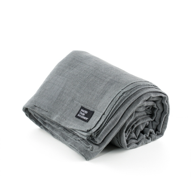 "Cotton Cover ""DARK GRAY"""