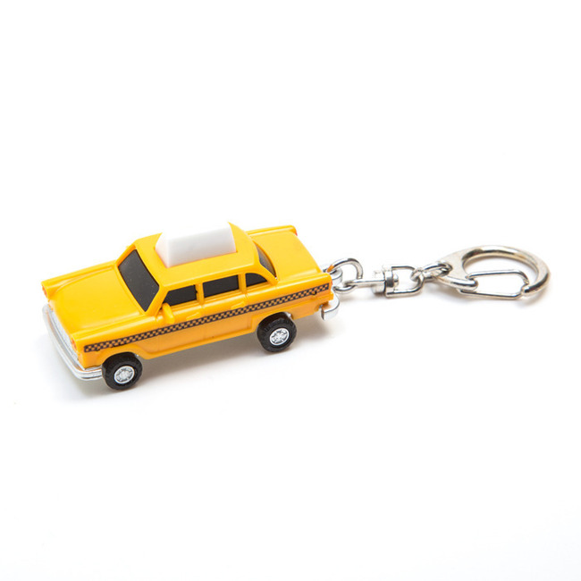 Taxi LED Keychain