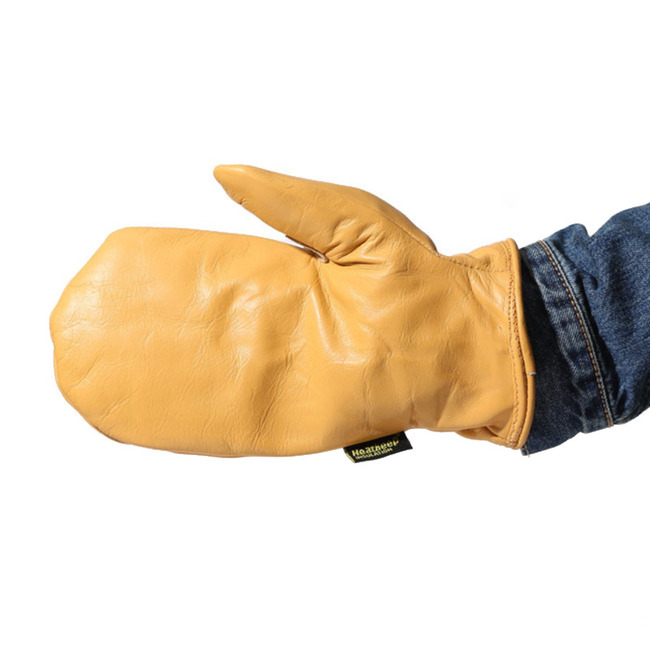 "AXEMAN® Lined Grain Leather Mitt ""1930"""