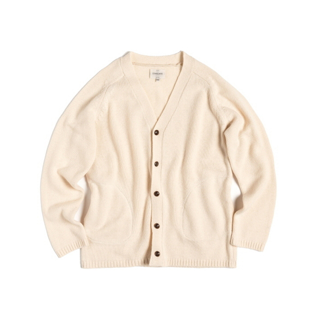 "R-POCKET CARDIGAN ""PURITY"""