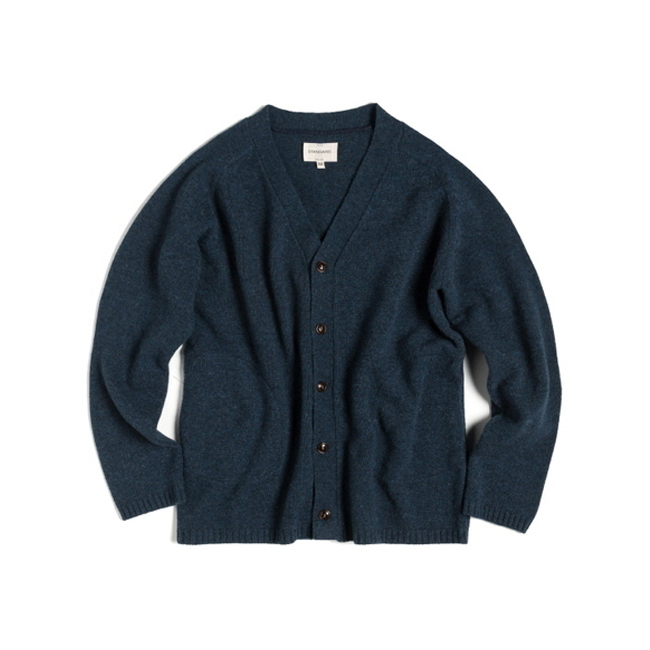 "R-POCKET CARDIGAN ""DENIM"""