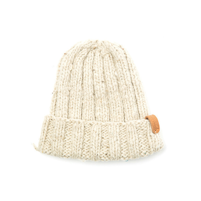 "Long Simple Hat ""CREAM"""