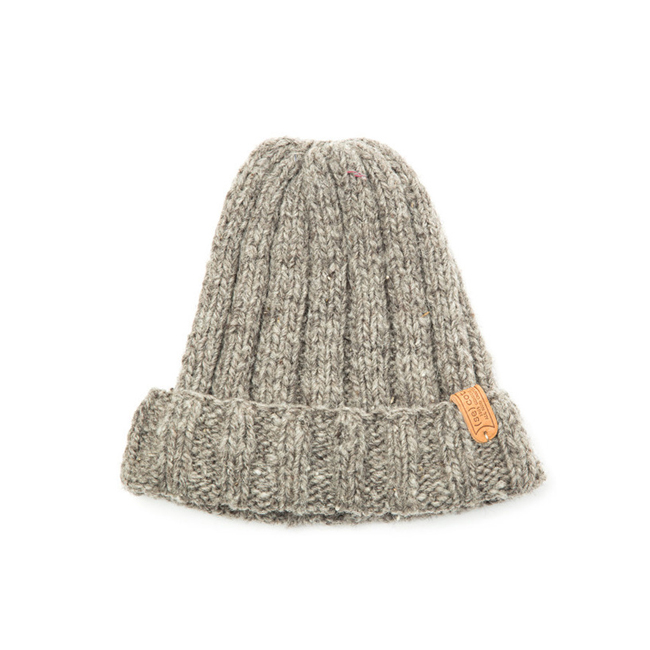 "Long Simple Hat  ""GRAY"""