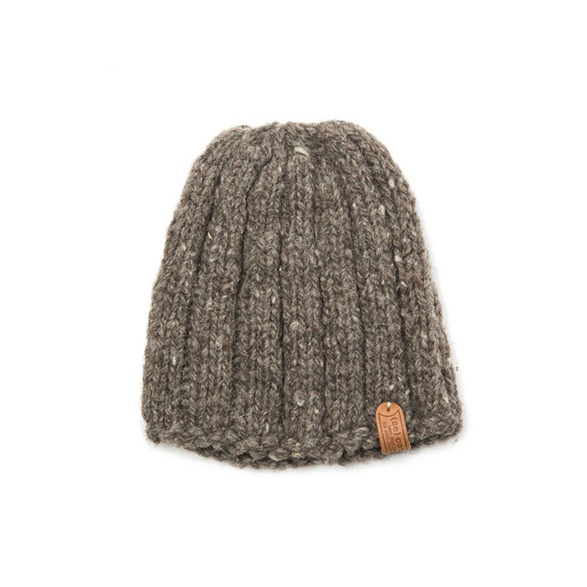 "Short Simple Hat ""GRAY"""