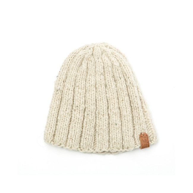 "Short Simple Hat ""CREAM"""