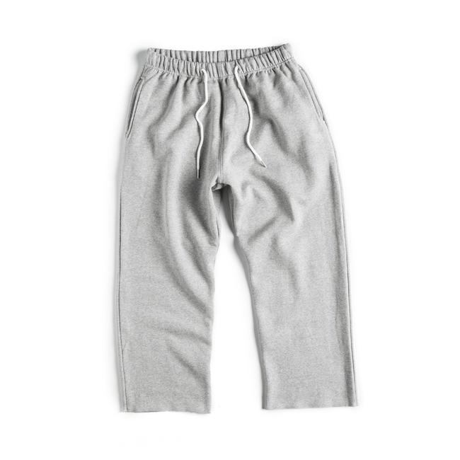 "Cut Shape Low Sweat Pants ""GRAY"""