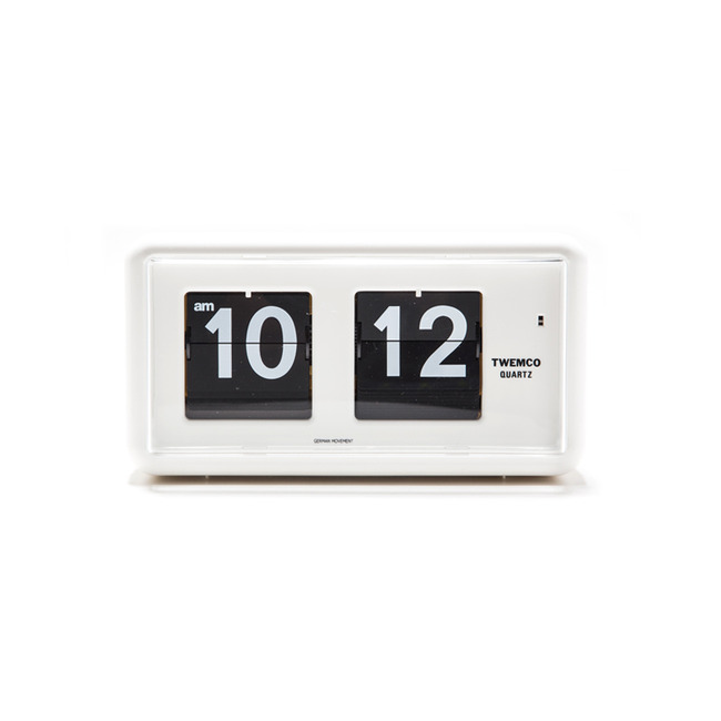 "QT-30 Flip Clock ""WHITE"" Re-Stock"