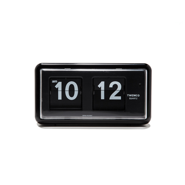 "QT-30 Flip Clock ""BLACK"""