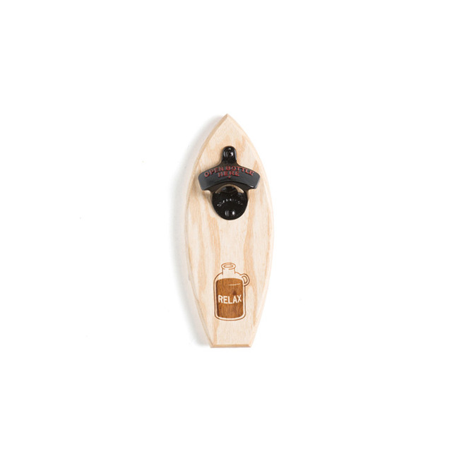 "Bottle Opener ""RELAX/BLACK"""