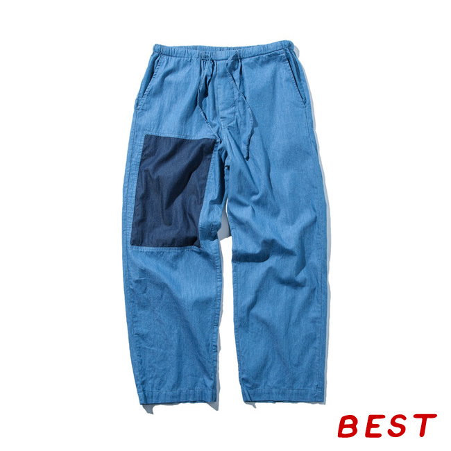 "Easy Pants ""BLUE CHAMBRAY"""