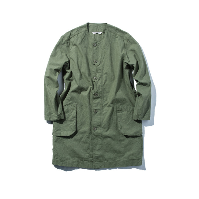 "Shop Coat ""OLIVE RIPSTOP"""
