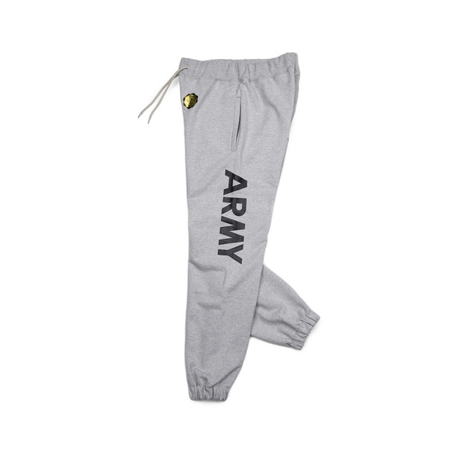 "ARMY Sweat Pants  ""GREY MELANG"""
