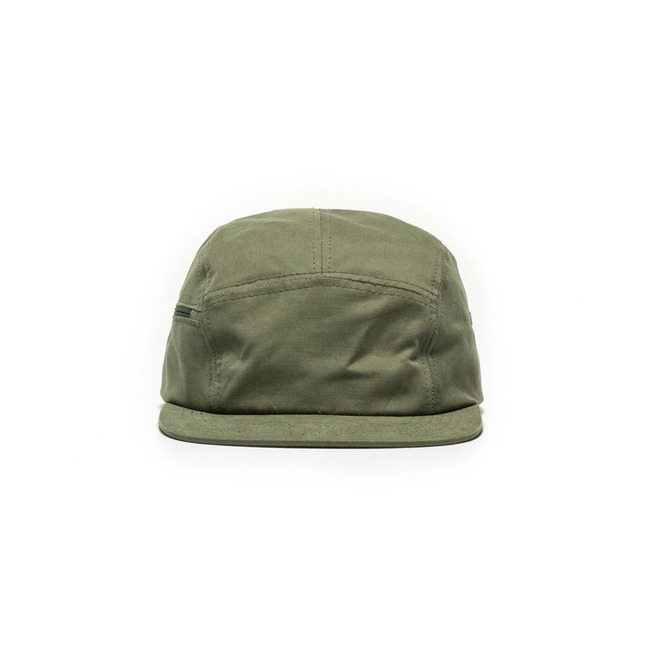 "Zipper Camp Cap ""KHAKI"""