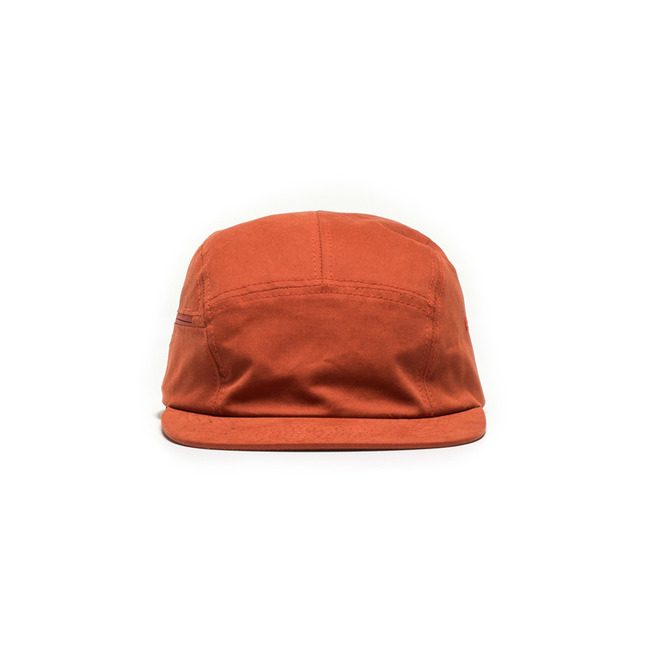"Zipper Camp Cap ""ORANGE"""