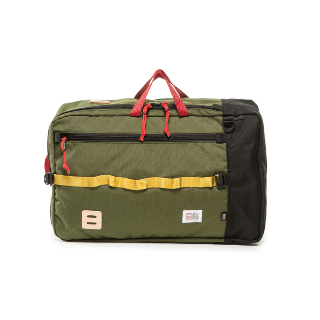 "Travel Bag ""OLIVE/BLACK"""