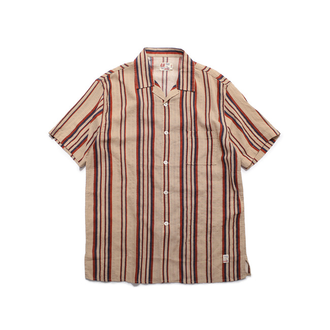 Stripe Shirt Beige