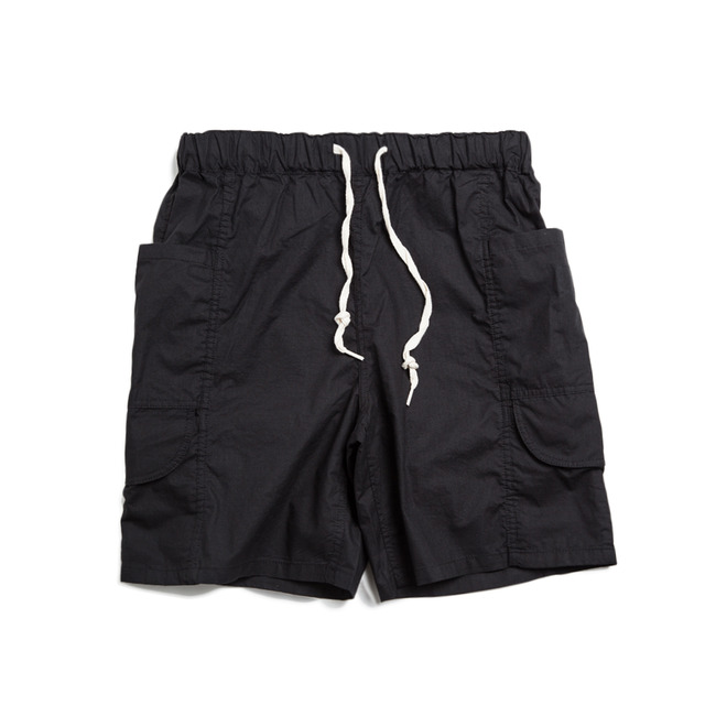 "Travel Pants Shorts ""BLACK"""
