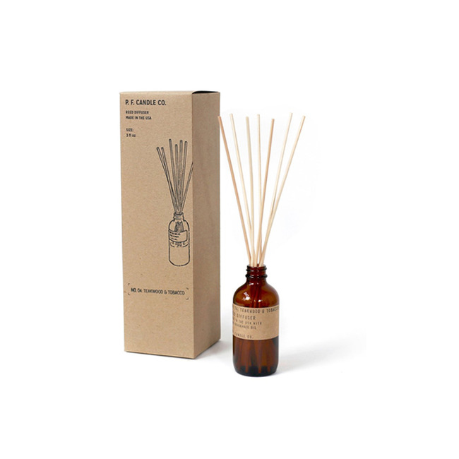 "3oz Reed Diffuser ""TEAKWOOD & TOBACCO"""