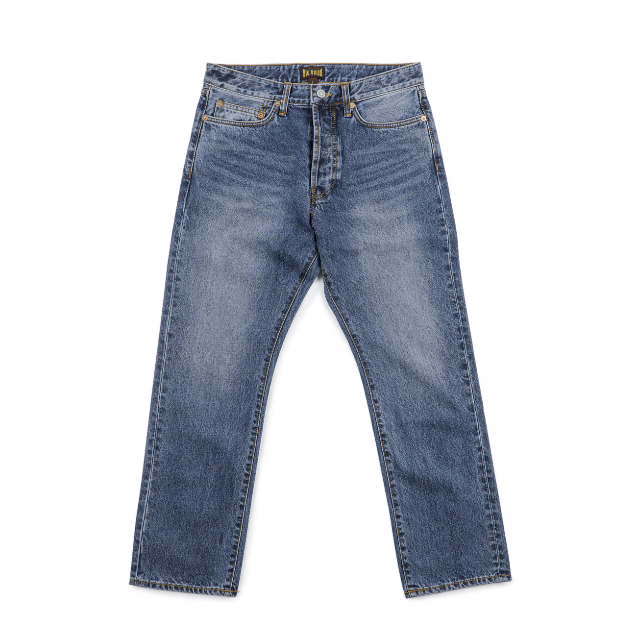 13oz Japanese Denim Used Wash 2 Indigo FW NEW