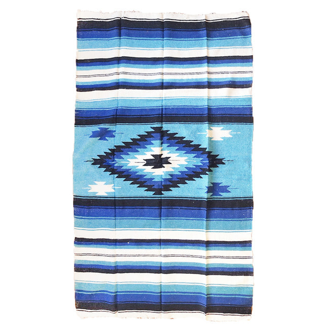 "Tierra Collection Blanket ""AZUL"""