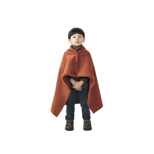 "Kids Bold Cape ""KASAYA RUST"""
