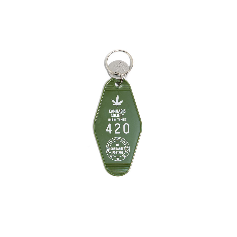 Cannabis Society Key Tag