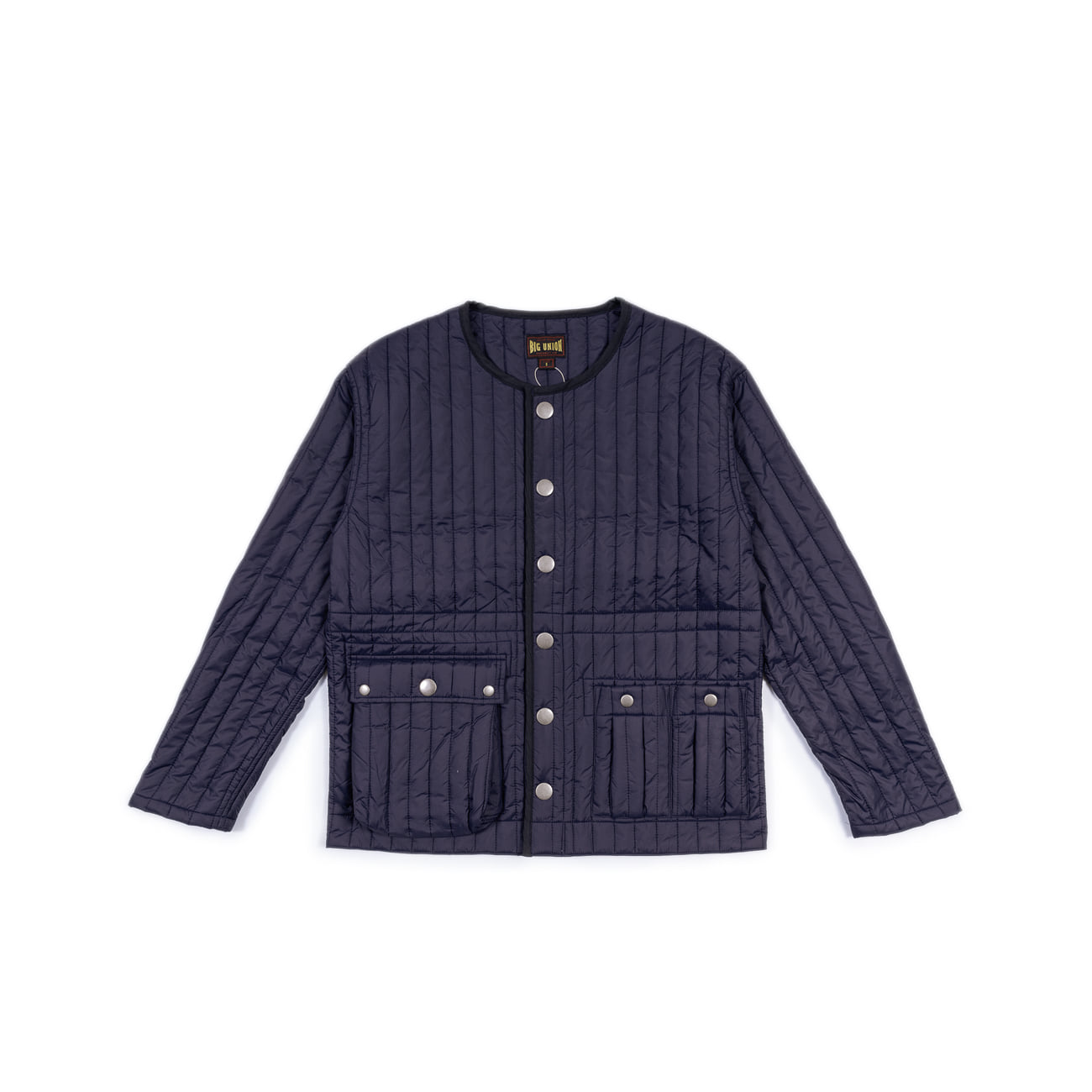 "Inner Quilted Jacket ""NAVY""이너로 입는 내피"