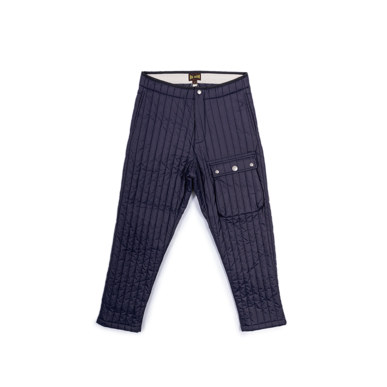 "Inner Quilted Pants ""NAVY""따뜻한 패딩팬츠"