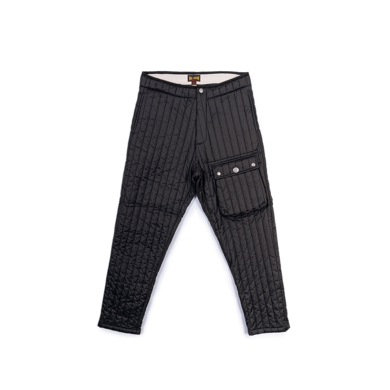 "Inner Quilted Pants ""BLACK""따뜻한 패딩팬츠"