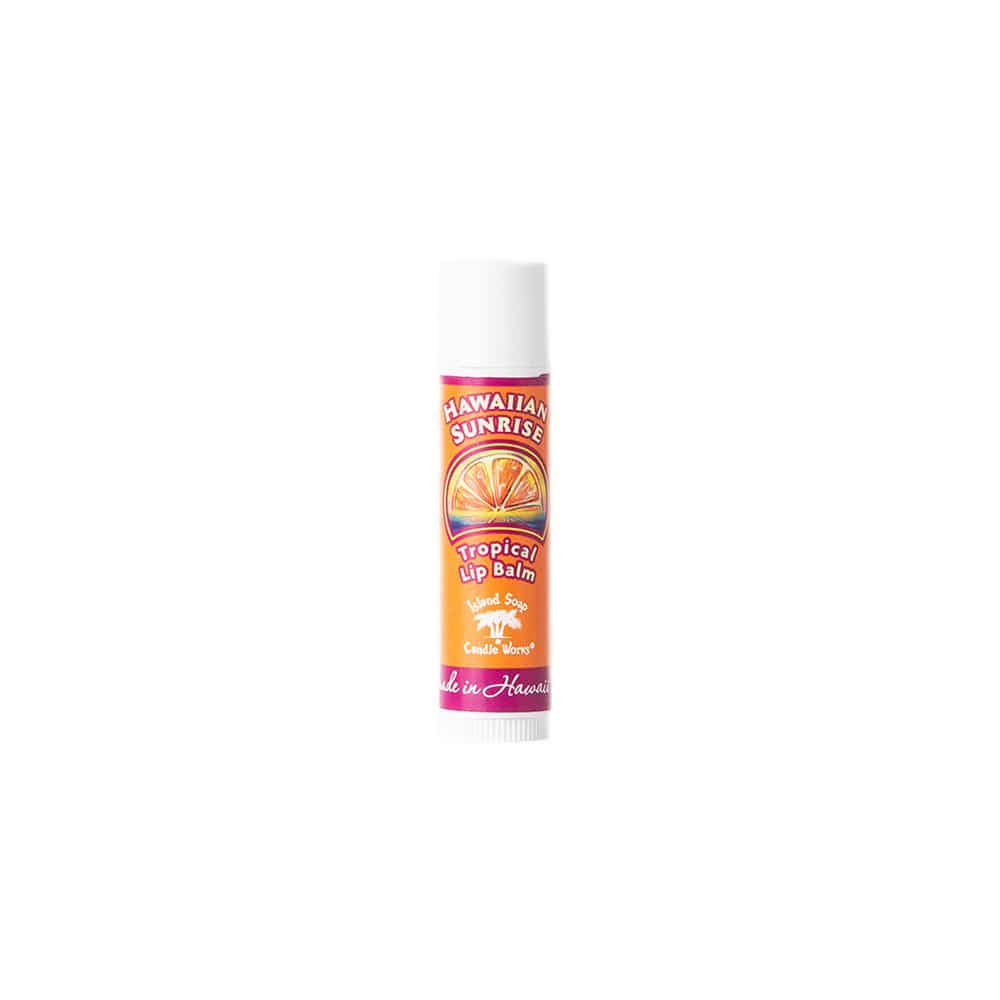 "Tropical Lip Balm Stick ""HAWAIIAN SUNRISE"""