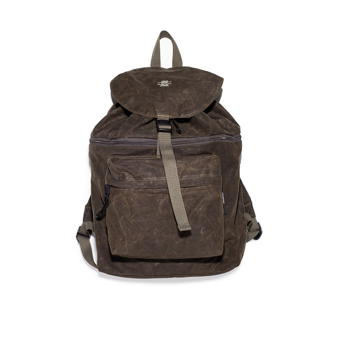 "Quarterbag 20 waxed C/N ""JUNGLE GREEN"""