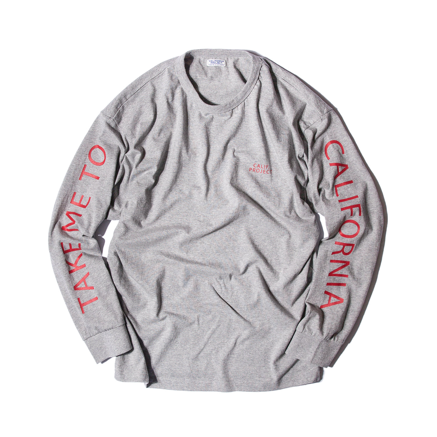 "TAKE ME TO CALIFORNIA L/S ""GREY"""