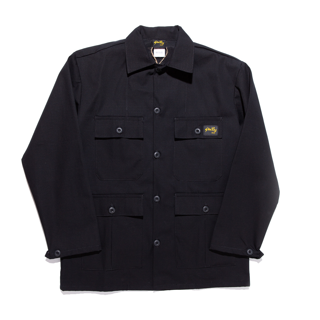 "Stan Ray Tropical Jacket 1979J ""Black Ripstop"""