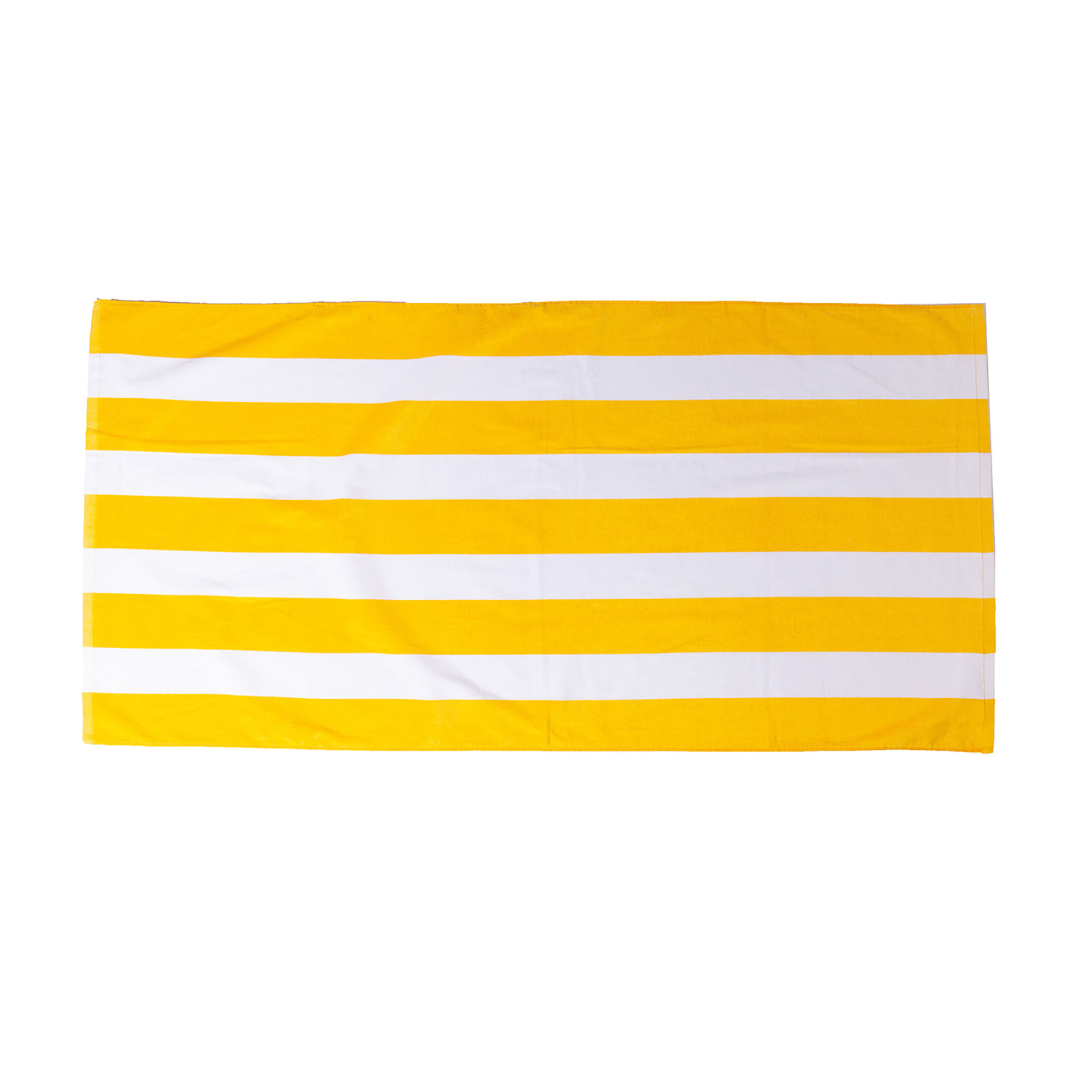 "Cabana Stripe Velour Towel ""SUNLIGHT"""