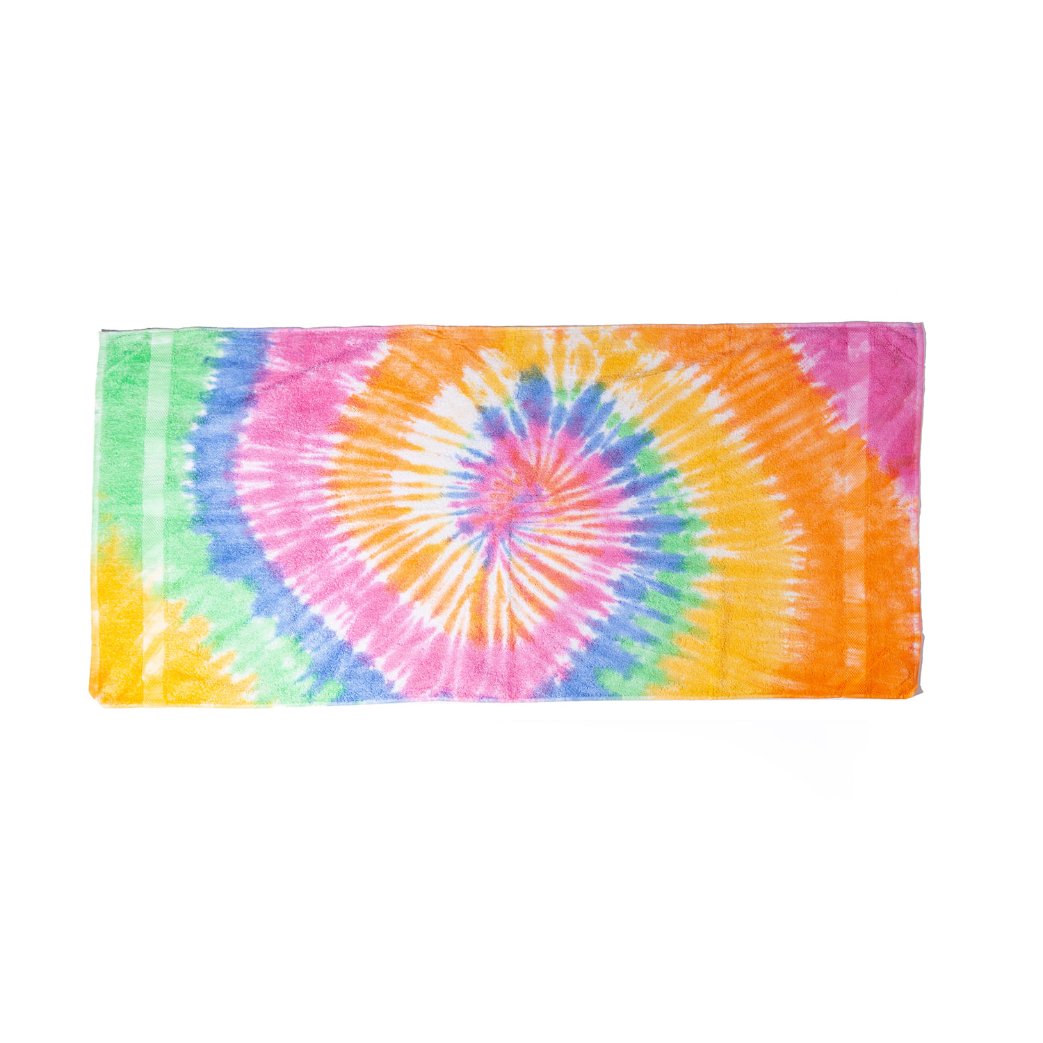 "Tie-Dyed Beach Towel ""ETERNITY"""