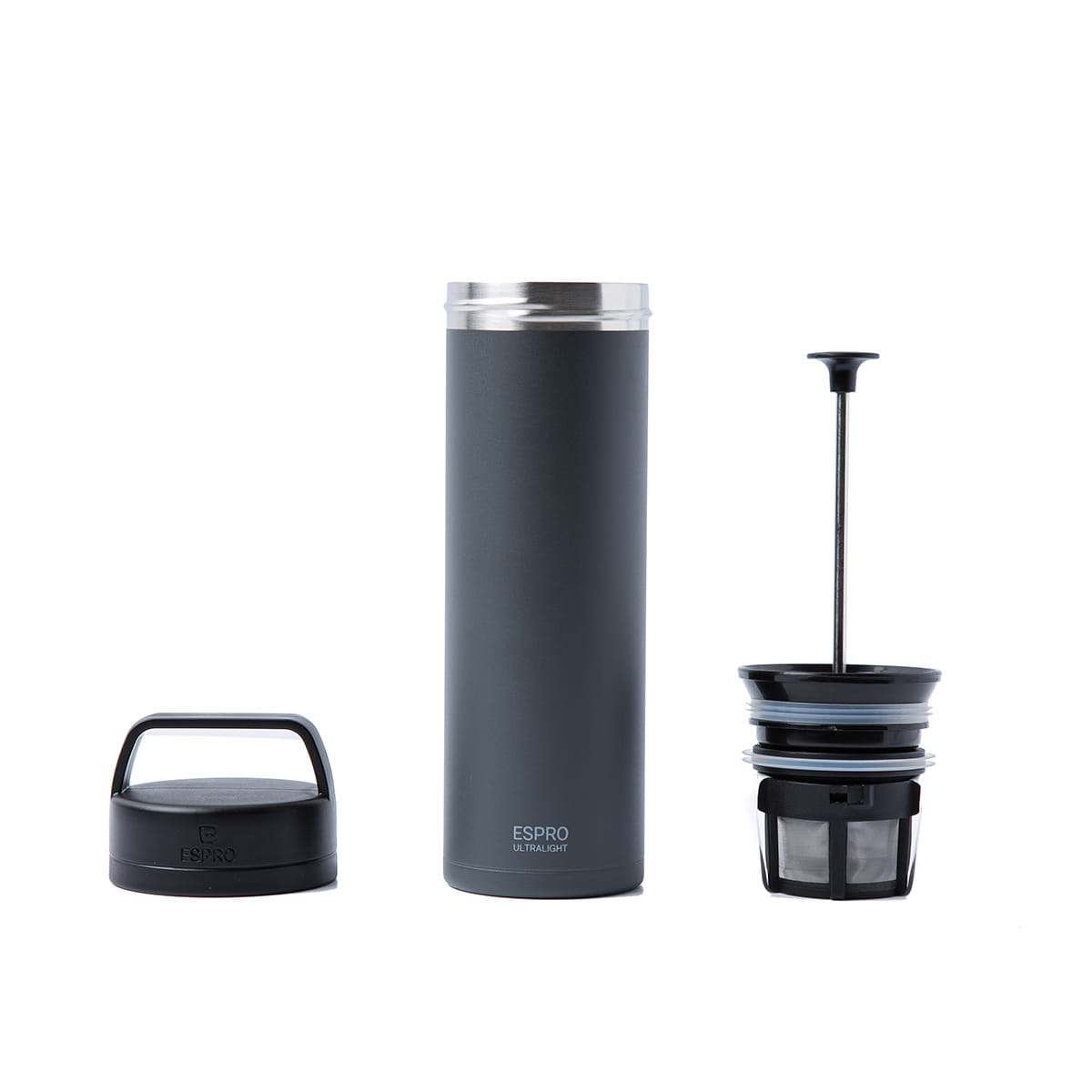 "Ultralight Coffee Press ""GREY"""