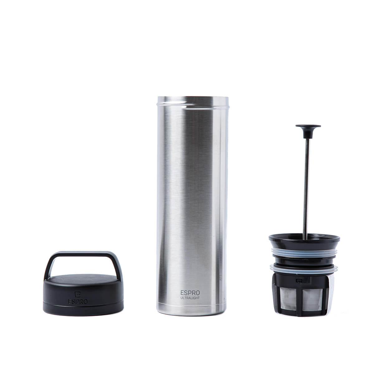 "Ultralight Coffee Press ""SILVER"""