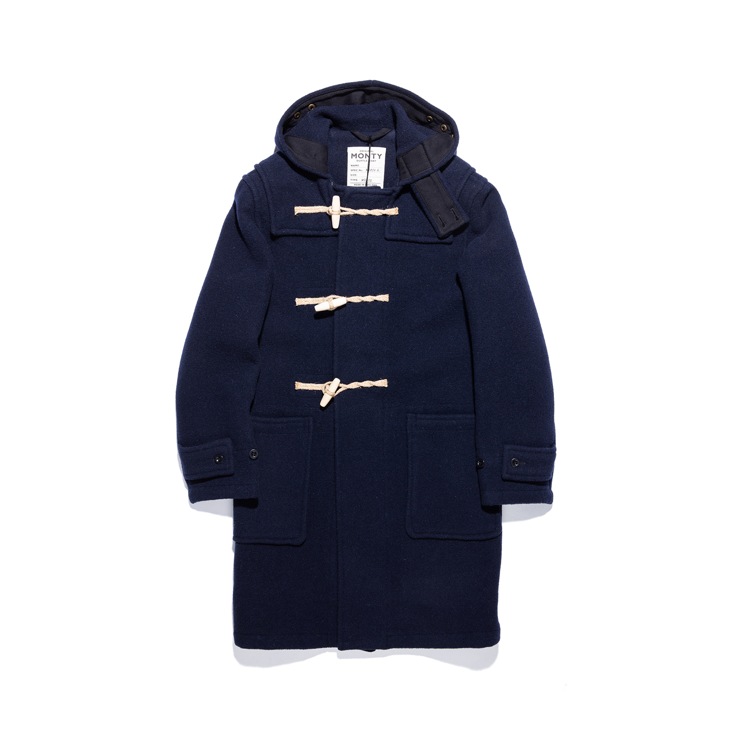 "Original Monty Duffle Coat ""NAVY"""
