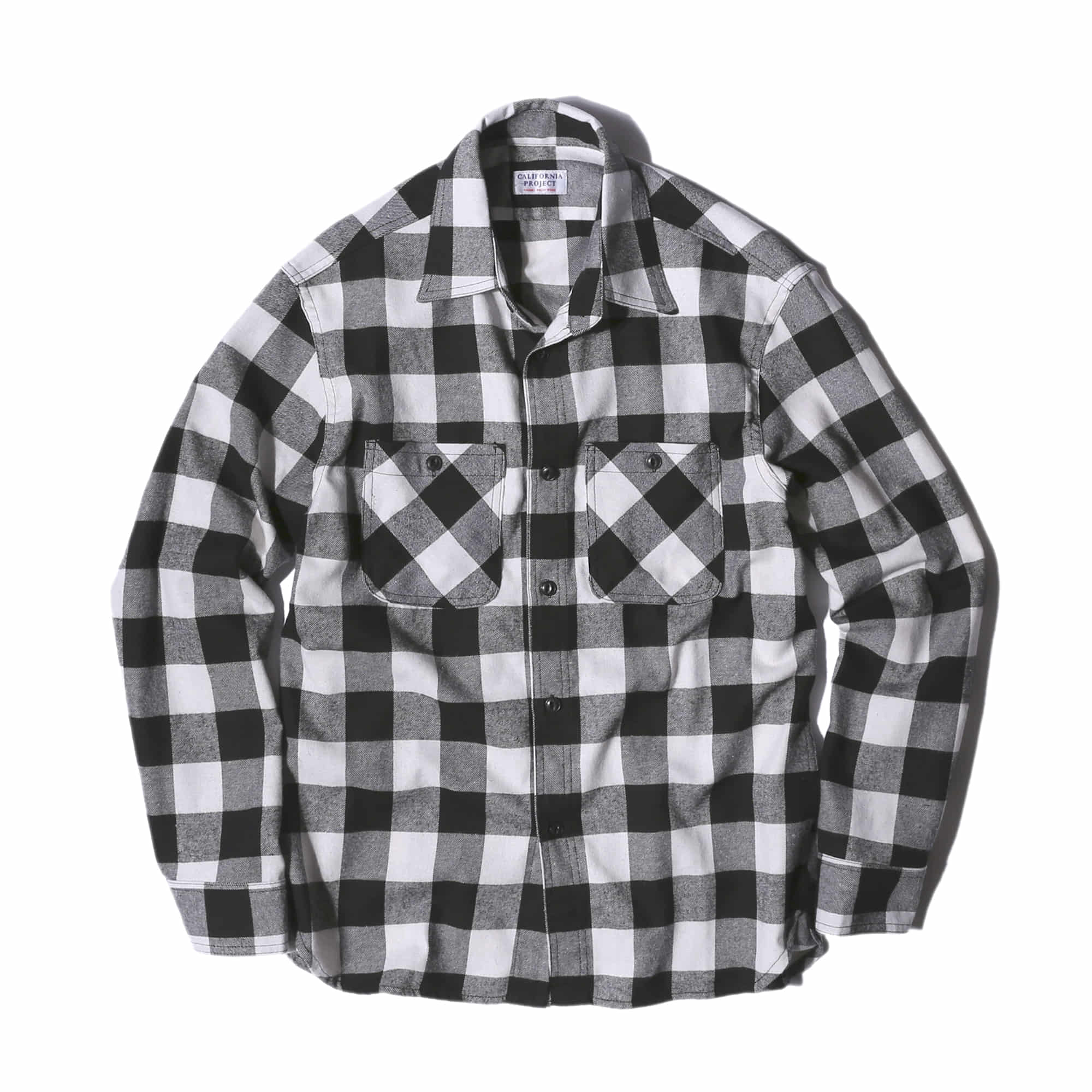 "Flannel Check Shirts ""WHITE"""