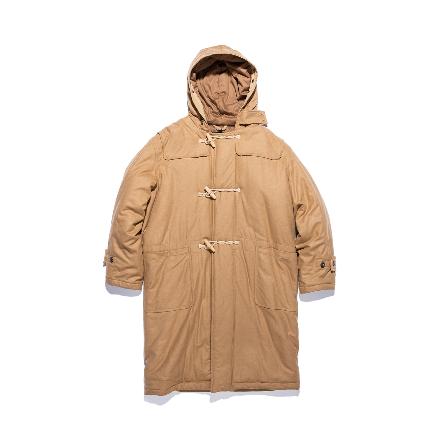 "Portsmouth Padded Duffle Coat ""CAMEL"""